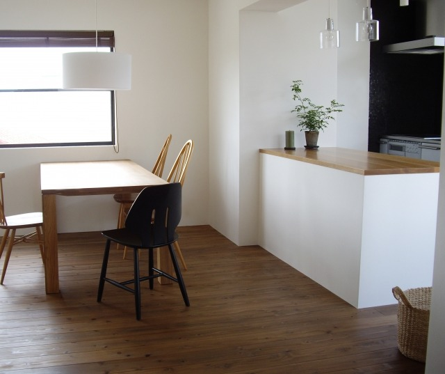 dinning - ついに同居生活スタート!選択すべきダイニングテーブルのサイズとは