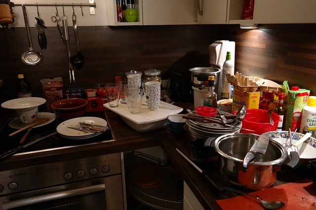 kitchen 231969 640 - 2人育児の家事を時短する方法!食器洗い機を実際に購入してみた体験談!(食洗機)