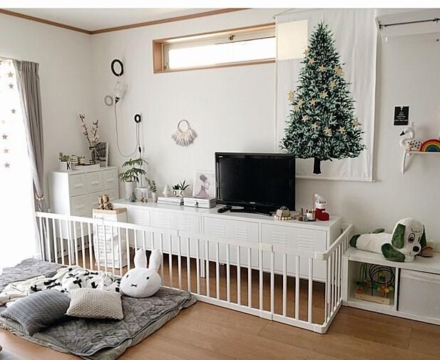 room 1204 01 - 子供に安全&おしゃれなクリスマスのインテリアは?おすすめの飾り付けってどんなもの?