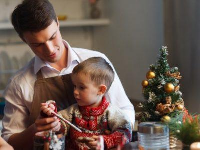 xmas kazari 400x300 - 子供に安全&おしゃれなクリスマスのインテリアは?おすすめの飾り付けってどんなもの?
