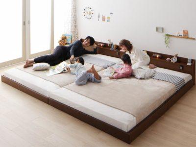040120098 g 001 m 400x300 - 子供と一緒に寝るローベッド|おすすめ10選&失敗しない選び方(連結・ファミリー向け)