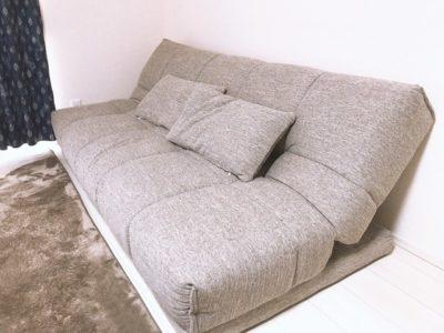 sofabed 400x300 - 一人暮らしならソファベッドがおすすめ!一台二役の優れもの5選